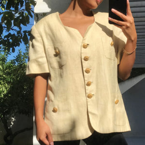 Veste vintage golden hour