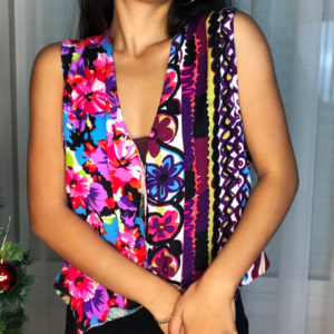 Sleeveless vest - Color party all day