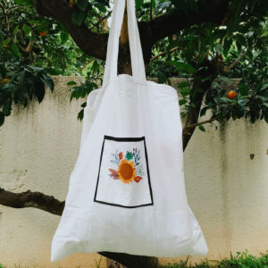 Upcycled tote bag by BUBA'S
