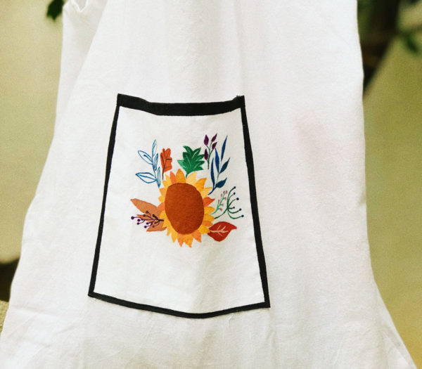 Upcycled tote bags by BUBA's - Sunflower power