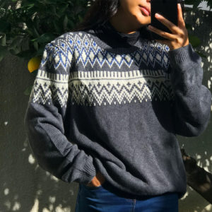 Vintage pullover dedicated to raclette parties