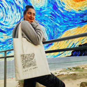 Tote's are finally here - Starry night