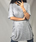 Long t-shirt could be worn as a casual dress