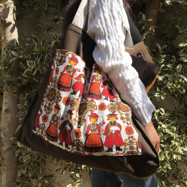 In love with this upcycled tote bag from CHKARTY