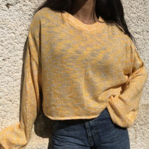 Cropped shirt - Hello sunshine
