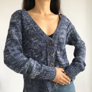 Dolce blue cardigan