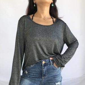 Simple and glittery top
