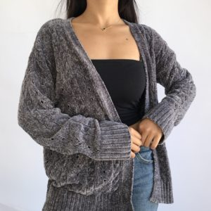 The coziest gilet ever