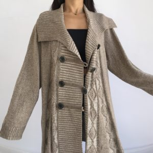 Long and hipsters vibe gilet en laine