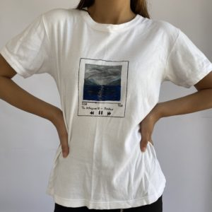 Upcycled t-shirt: Music is my thing