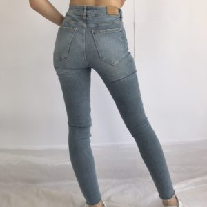Slim fit high waisted jeans
