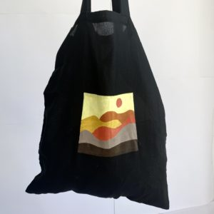 Upcycled beach tote bag by BUBAS